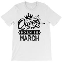 Футболка женская Queens are born in march