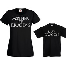 Футболки парные Mother Baby of Dragons