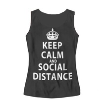 Майка женская Keep Calm And Social Distance