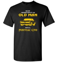 Футболка Old man Pontiac GTO