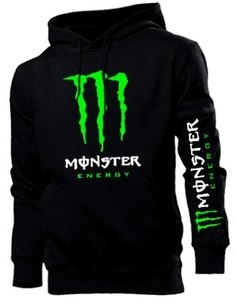 Толстовка Monster energy, рукав