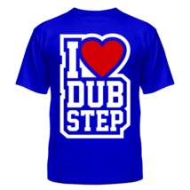 Футболка I love DubStep