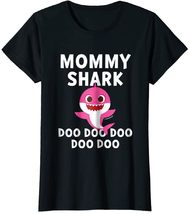 Футболка Mommy Shark Doo Doo Doo
