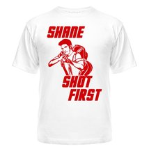 Футболка Shane shot first
