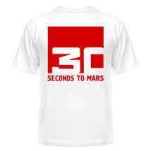 Футболка 30 seconds to mars, квадрат