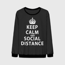 Свитшот Keep Calm And Social Distance