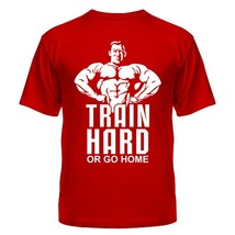Футболка Train hard or go home, тренируйся