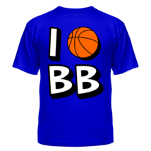 Футболка I love Basketball 5