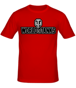 Футболка World of Tanks new logo