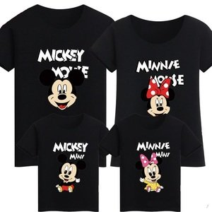 Футболки семейные Mickey Mini Mouse Minnie Mini Mouse
