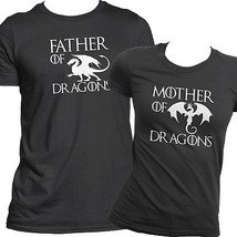 Футболки парные Mother Father of Dragons