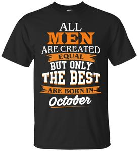 Футболка The best are born in oktober