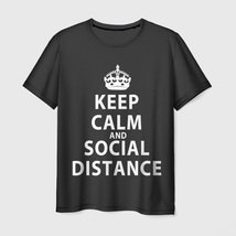 Футболка Keep Calm And Social Distance