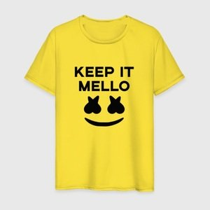 Футболка KEEP IT MELLO Marshmello