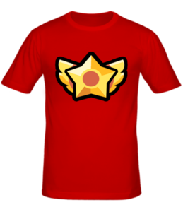 Футболка Brawl Stars star