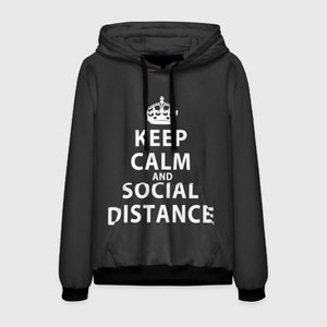 Толстовка Keep Calm And Social Distance
